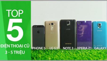TOP 5 điện thoại giá 3 đến 5 Triệu