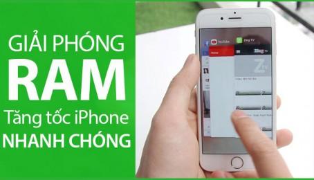 Giải phóng Ram để Iphone chạy nhanh hơn