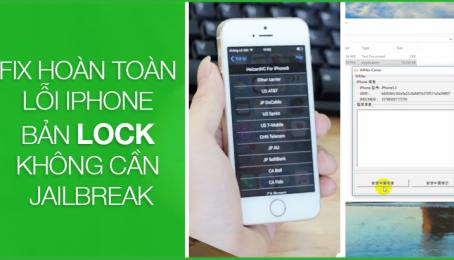 Wimax (HaPhung)-Hướng dẫn dùng phần mềm fix lỗi iPhone lock không cần Jailbreak