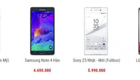 Địa chỉ bán điện thoại cũ giá rẻ tại Hà Nội