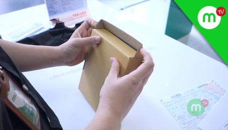 Quy trình đóng gói điện thoại mua online gửi đi xa tại Mango UPDATE #09