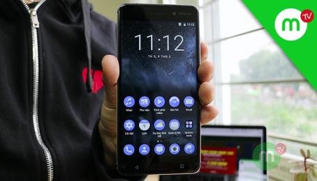 REVIEW trải nghiệm chiếc Nokia 6 tại Việt Nam