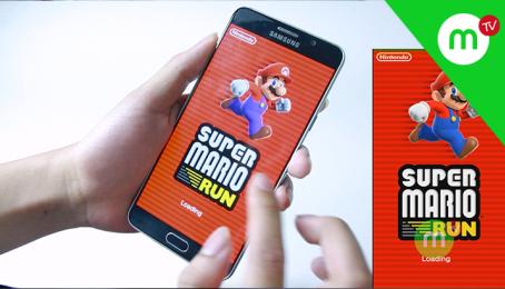 Trải nghiệm game Mario Run mới có trên Android | MangoTV
