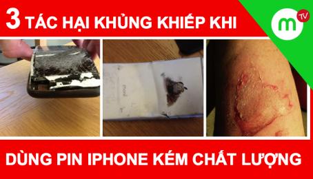 3 tác hại KHỦNG KHIẾP khi dùng pin iPhone kém chất lượng, cách phân biệt pin LÔ - ZIN   MangoTV