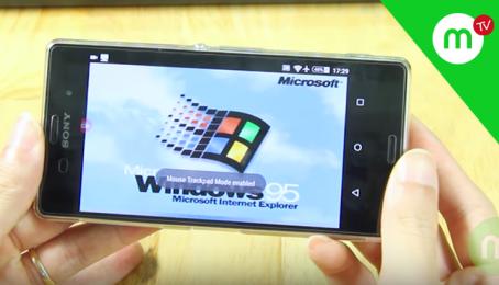 Hướng dẫn Chạy giả lập Win 95 trên Smart Phone Android | MANGOTV