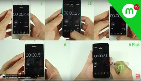 Kinh hoàng Speedtest iPhone 5, 5C, 5S, 6, 6 Plus và cái kết KHÔNG THỂ NGỜ tới | MANGOTV