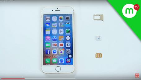 THỰC TẾ Sim ghép thần thánh với iOS 10.3.2 iPhone 6 LOCK | Video theo yêu cầu #3 | MANGOTV