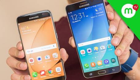 Trả lời #35 5-6 triệu mua máy gì, iPhone 6s hay Samsung S7 edge, S7 hay Note 5 ???| MANGOTV