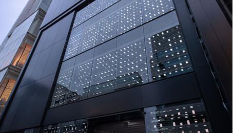 Samsung trang trí cửa hàng bằng 1.000 smartphone Galaxy