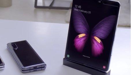 Samsung thử khả năng gập của Galaxy Fold thế nào?