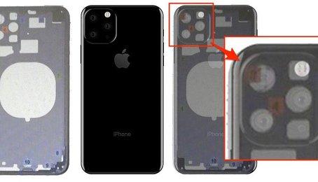 Thiết kế bộ khung iPhone 11 mới lộ ra hầu như xác nhận máy sẽ có cụm camera vuông?