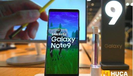 Hạ độ phân giải màn hình chiếc Note 9 xuống để tăng thời lượng pin