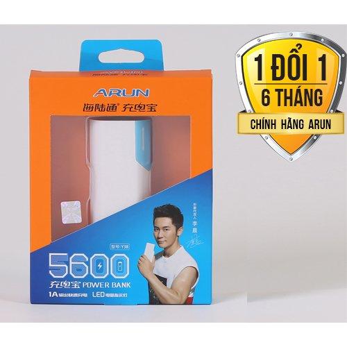 Pin dự phòng Arun 5600mAh chính hãng