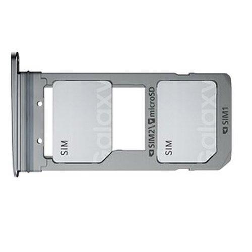 Khay SIM Quốc Tế Samsung S8 Plus (2 Sim)
