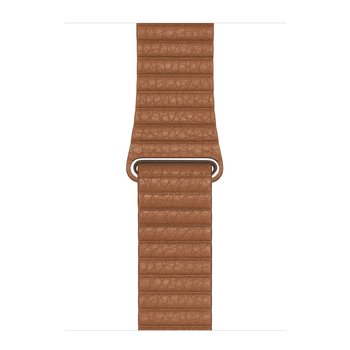 Dây da Apple Watch - Saddle Brown Leather Loop 44mm