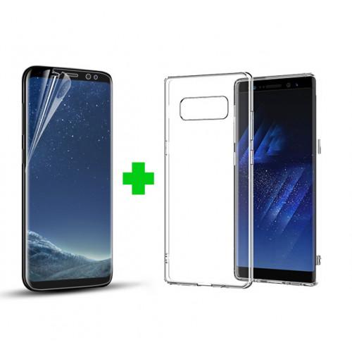 Combo dán màn + ốp lưng cho điện thoại Samsung S8/S8 Plus/Note 8/S9/S9 Plus