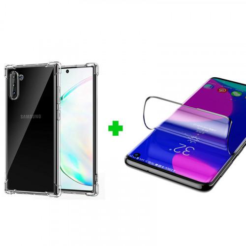 Combo dán màn + ốp lưng cho điện thoại Samsung Note 9/S10e/S10/S10 Plus/Note 10 Plus/S20/S20 Plus/S20 Ultra