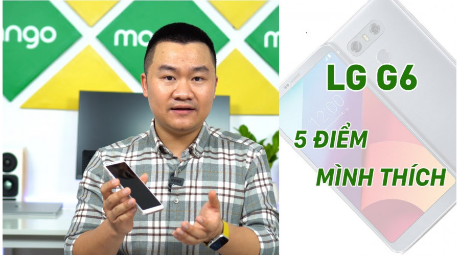 Video thực tế LG G6 32G cũ (Đẹp 99%)