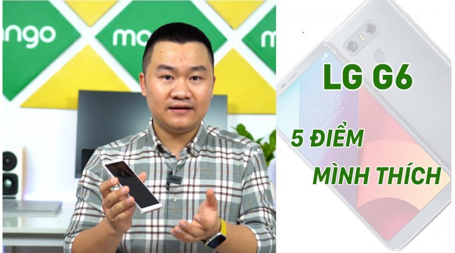 Video thực tế LG G6 Hàn 64G Mới
