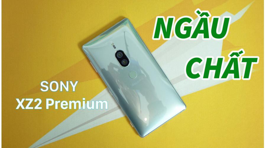 Video thực tế Sony XZ2 Premium Mới