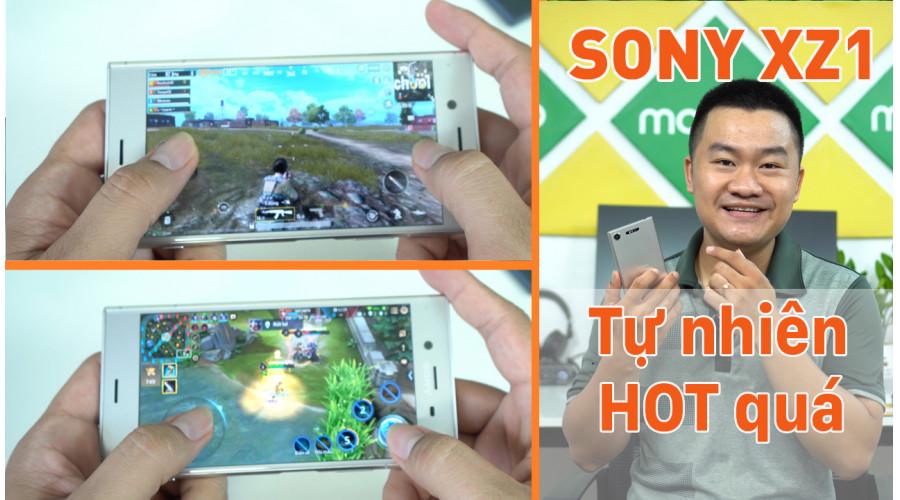 Video thực tế Sony Xperia XZ1 Mới