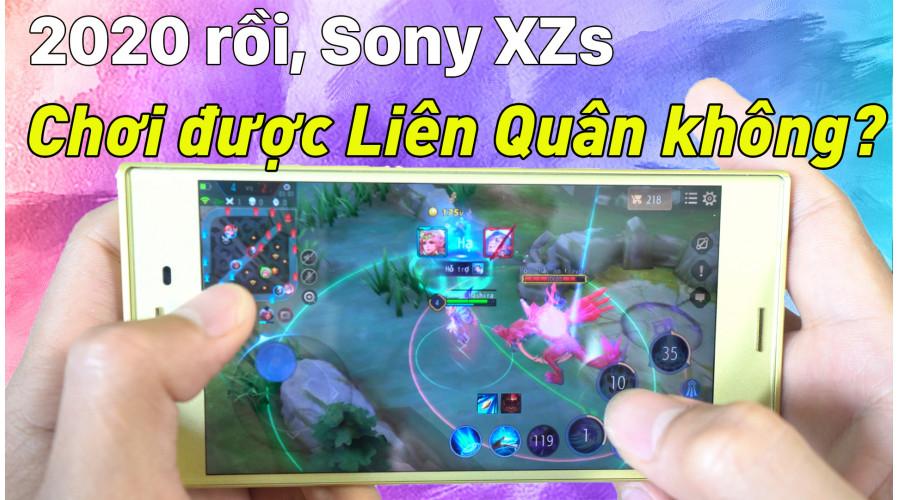 Video thực tế Sony Xperia XZs cũ (Đẹp 99%)