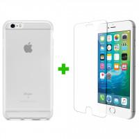 Combo cường lực, ốp lưng cho iPhone 6s/6s Plus