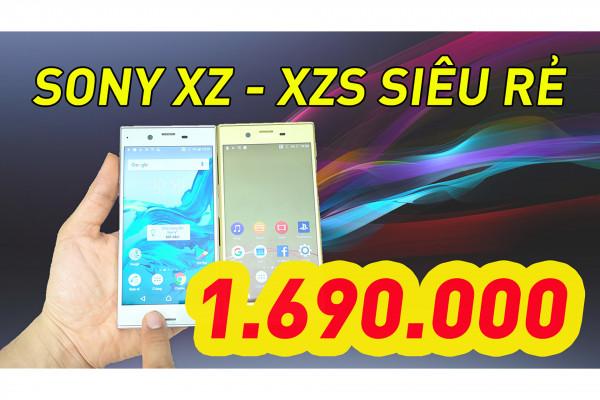 Sony XZ - Sony XZs Siêu rẻ chỉ từ 1.690.000! Ngon - Đẹp - Mượt Mà