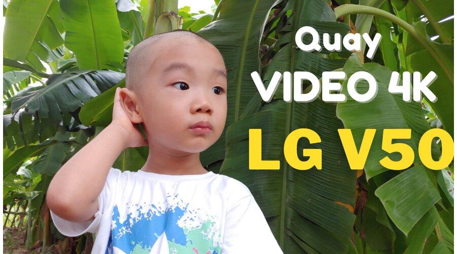 Video thực tế LG V50 ThinQ 5G Mới